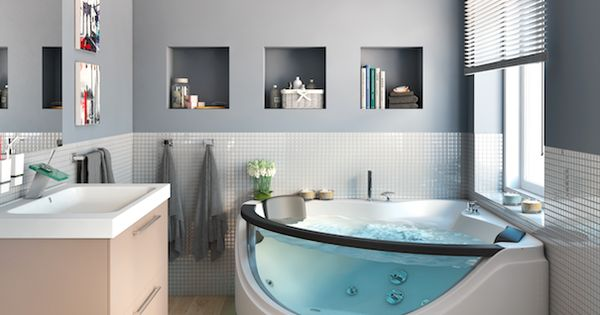 ba o y jacuzzi combinaci n ideal leroy merlin ba os para inspirarte pinterest minis. Black Bedroom Furniture Sets. Home Design Ideas