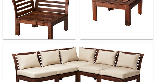 Ikea APPLARO furniture - balcony | Deck Ideas | Pinterest ...
