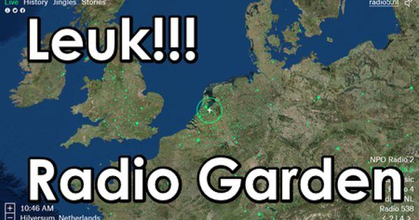 Edu Curator Gewoon Leuk Radio Garden Luister Naar Ieder Radiostation Op Onze Aardkloot Radio Onderwijs Basisonderwijs