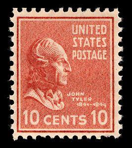 Image result for john tyler stamps