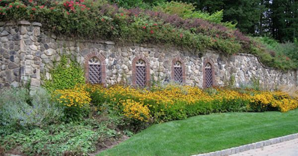 Atlanta landscape stone wall home and hearth ii for Landscaping rocks wake forest nc