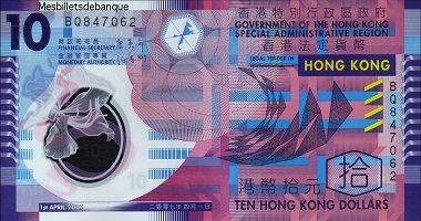 Hong Kong Dollar To Us Dollar Cash Converter Papel Moneda Billetes Monedas