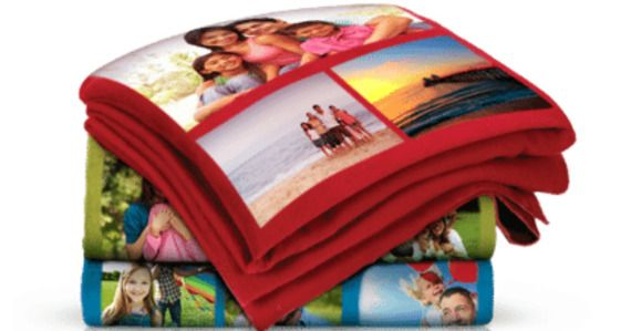 Walgreens 75 Off Personalized Photo Fleece Blankets Photo