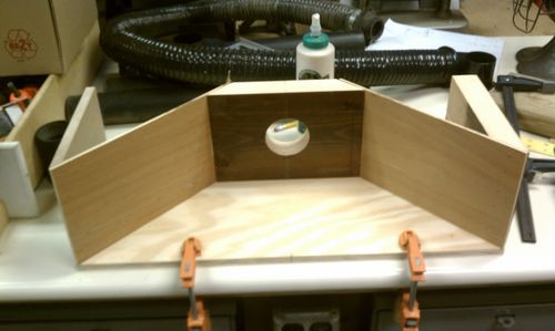 My take on Miter Saw dust collection - by EEngineer