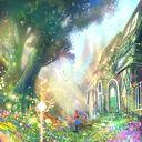忘れられた村に香る花 イラスト 美しい 作品