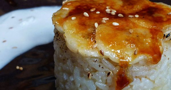 Coconut rice puddings, Coconut rice and Rice puddings on Pinterest