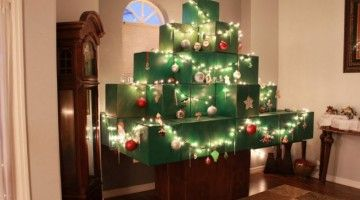 Real Life Minecraft Christmas Tree Youtube User Ignitemotion Com Minecraft Christmas Tree Creative Christmas Trees Minecraft Christmas