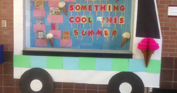 School Bulletin Board Ice Cream Truck Ideas