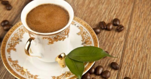 كيفية تحضير القهوة التركية Tableware Glassware