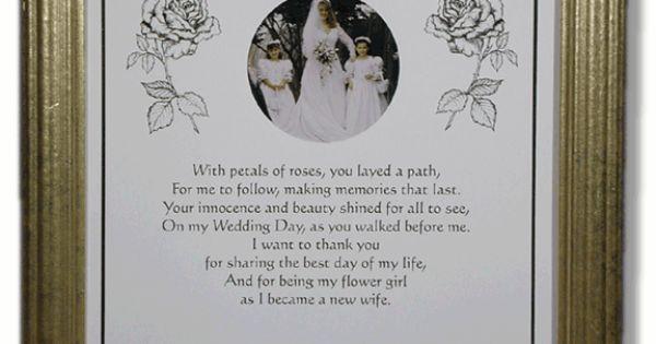Flower Girl Poems