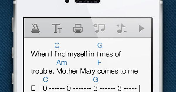 Ultimate Guitar Tabs is a mobile version of the world's largest catalog