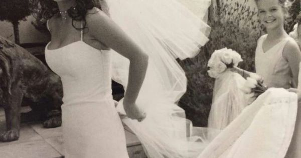 Giada de laurentiis wedding dress
