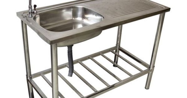 westerholt waschtisch waschbecken edelstahl tisch f r au en und gartenbereich waschtisch. Black Bedroom Furniture Sets. Home Design Ideas