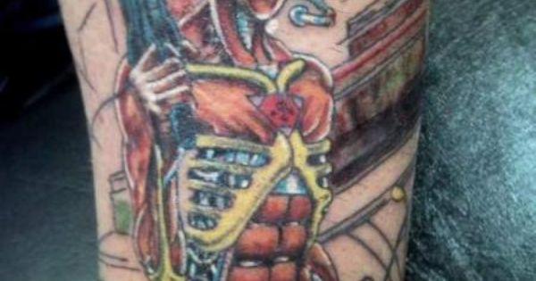 Iron Maiden: Somewhere in Time | Iron maiden eddie, Iron ...  |Iron Maiden Somewhere In Time Tattoo