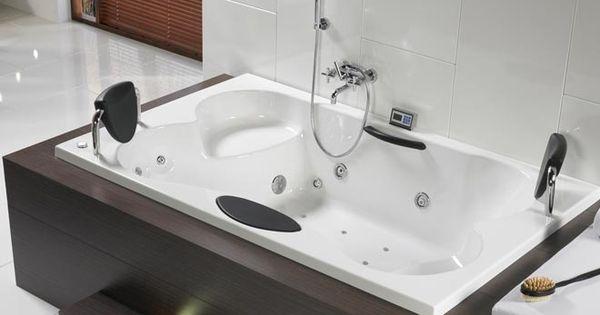 Baignoire balneo riho claudia haut de gamme 2 places vente de baignoire balne - Baignoire spa 2 places ...