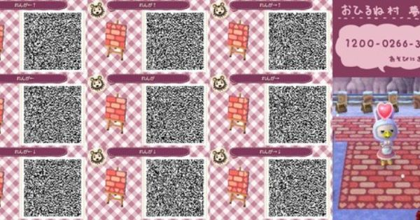 Bodendesigns Qr Codes Animal Crossing New Leaf Qr