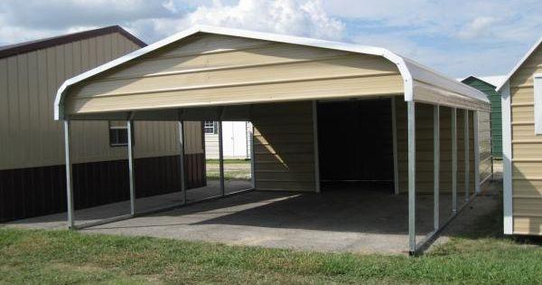 Garage carport combo garages pinterest for Garage carport combo