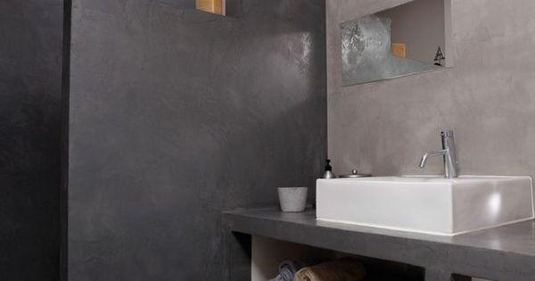 R novation salle de bain douche sans joint et sans for Bouche pore carrelage