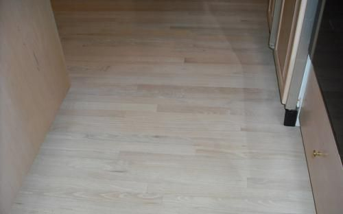 Red Oak With White Stain