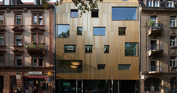 wohn und gesch ftshaus baul cke lange r tterstrasse mannheim von motorlab architektur. Black Bedroom Furniture Sets. Home Design Ideas
