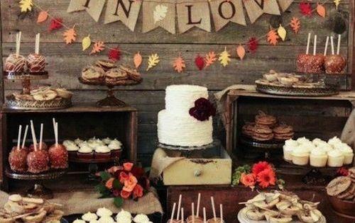 Beautiful and Fun Fall Wedding Ideas: www.modwedding.co... wedding weddings fall_wedding_ideas