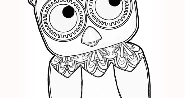 Tinga tinga tales b owl cute animals coloring for Tinga tinga coloring pages