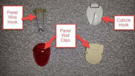 Cubicle Hangers Check Out My Top 5 Wall Clips Cubicle Decor