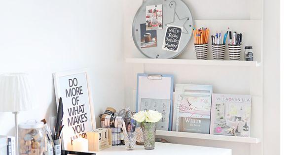 ordnung ist die atempause des chaos mein ideenreich room interiors and desks. Black Bedroom Furniture Sets. Home Design Ideas