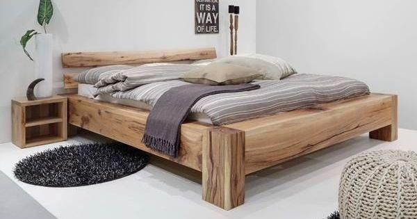 Balkenbett Google Search Zimmer Bett Eichenbetten