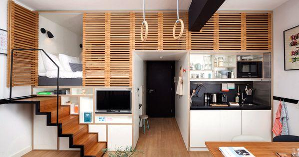 Studio - un aménagement moderne et bien pensé | Minihaus ...