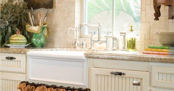 bonne id e le rideau sous l 39 vier cuisine pinterest campagne fran aise cuisines. Black Bedroom Furniture Sets. Home Design Ideas