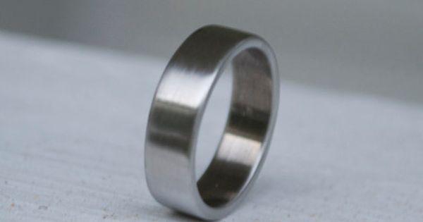 Shotgun Metal Ring Classic Wedding Band Mens And Womens Wedding Ring Shotgun Ring