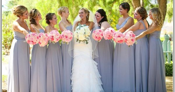 Pin by Mallory Verner on Wedding - Bridesmaids | Pinterest | Pink ...