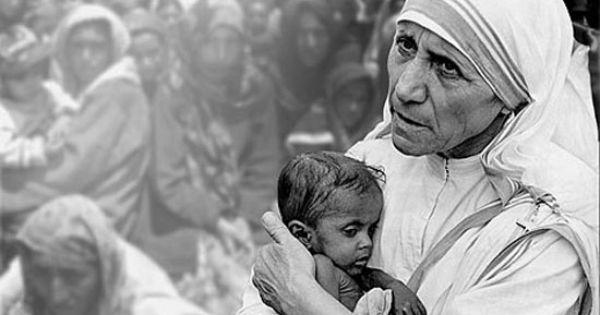 Mother Teresa, my hero !