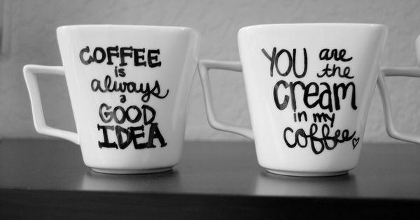 Diy Sharpie Coffee Mugs <3 | Diy Activities | Pinterest | Cute