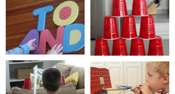 20 Sight Words Games ~ Lots of fun ideas included. I'm sending