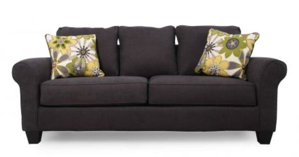 Ashley Nolana Charcoal Sofa Home Pinterest Charcoal Sofa Living Room Furniture And Living