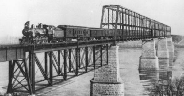 Atchison Topeka Santa Fe Railway Company Bridge Sibley