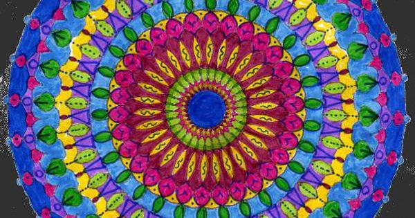 Mandala Vierge à Colorier Douce Lumière Pour Art Thérapie De La Boutique MANDAREVE Sur Etsy