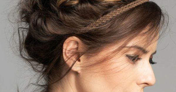 Le chignon tress 35 id es qui vont vous charmer types de coiffures chignon - Type de coiffure ...