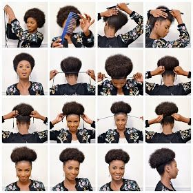 Learn How To Create A Beautiful Afro Puff Afro Puffs Are Professional Stylish Hairstyles T Natural Hair Puff Natural Hair Styles Easy Natural Afro Hairstyles