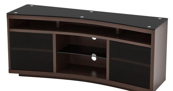 Radius Curved Tv Stand Z Line Designs Inc Curved Tvs Curved Tv Stand Tv Stand With Mount