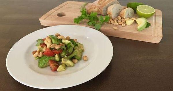 Sommersalat Die Freiheit Schmeckt Nach Avocado Hauptgericht Essen Salat
