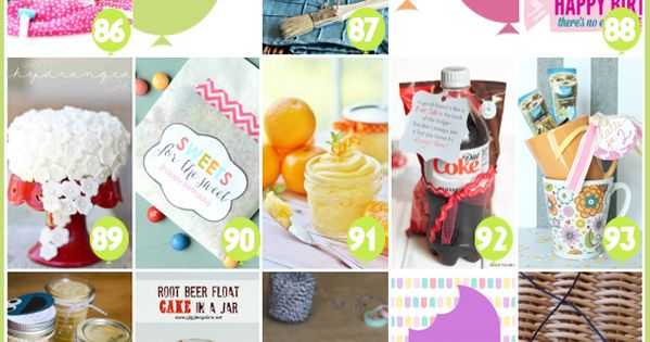 101 creative amp inexpensive birthday gift ideas birthday ideas