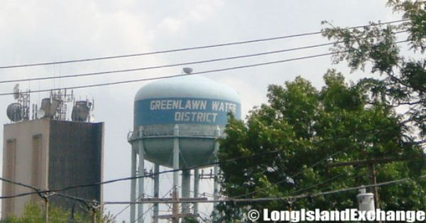 Greenlawn Water Tower Water Tower Greenlawn Long Island Ny