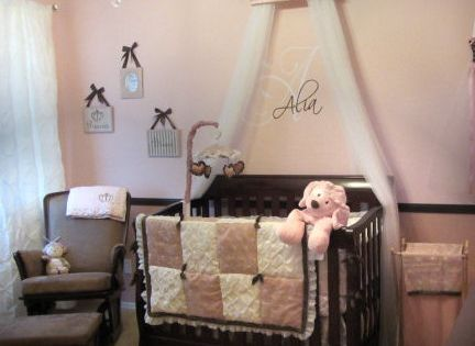 Baby Room Ideas For Girls Nurseries Wooden Letters