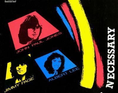 Jones John Paul Jimmy Page Albert Lee No Introduction