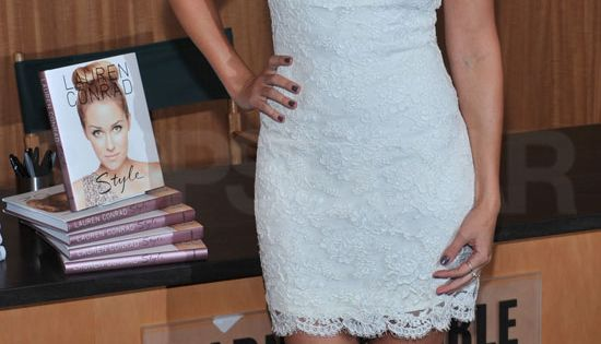 White Notte by Marchesa Dress worn by Lauren Conrad Perfect as a