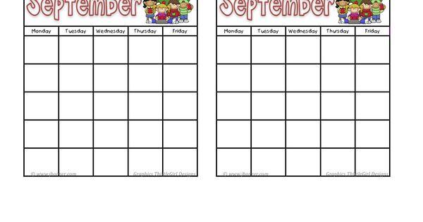 calendar template   when I'm a teacher....in a classroom that is :D ...