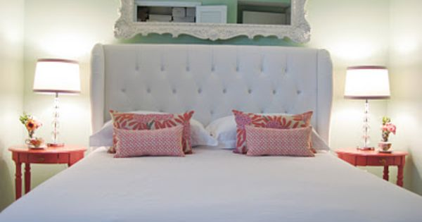 Mint And Coral Bedroom Like It But Not So Sure About The